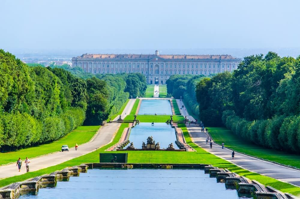 Una visita al imponente Palacio Real de Caserta