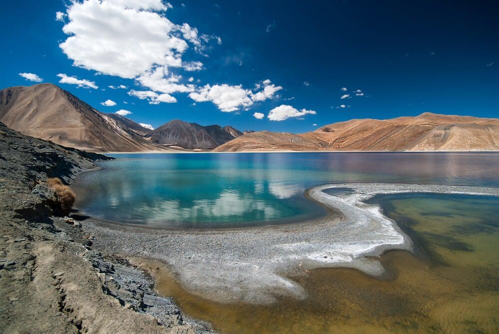 Pangong Tso, un lago muy especial en el Himalaya