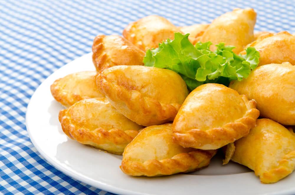 Pastechis típicos de la gastronomía de Aruba