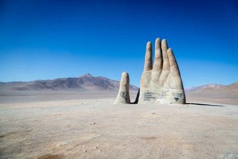 Pintadas en la Mano del Desierto