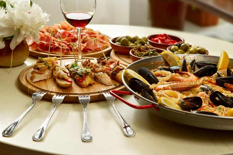 Disfruta de la fantástica gastronomía española