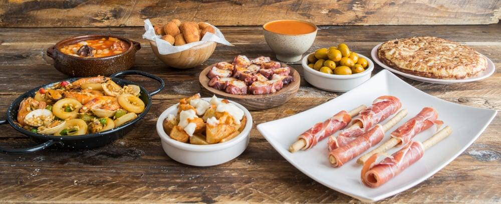Platos típicos de la gastronomía española