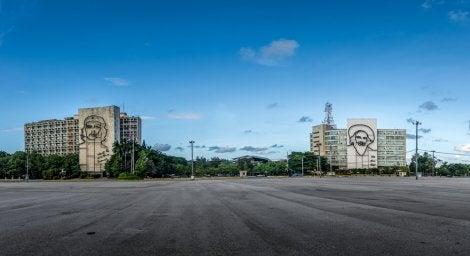 Vista de la plaza de la Revolución