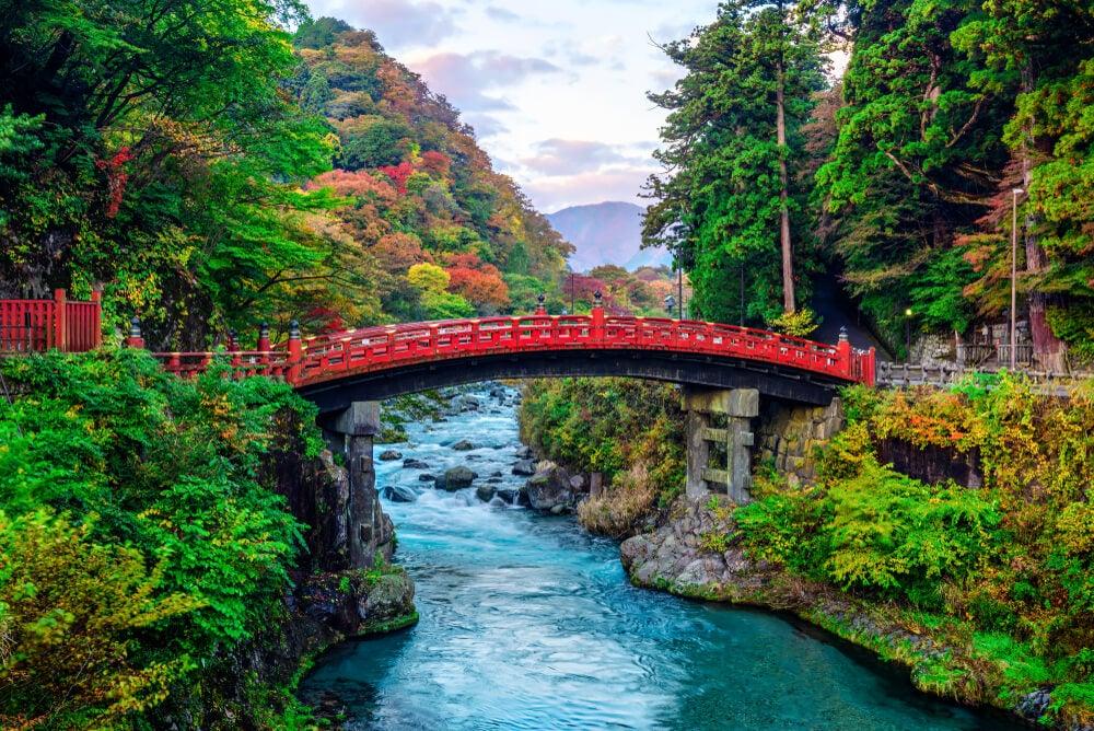 Puente Shinkyo en Nikko