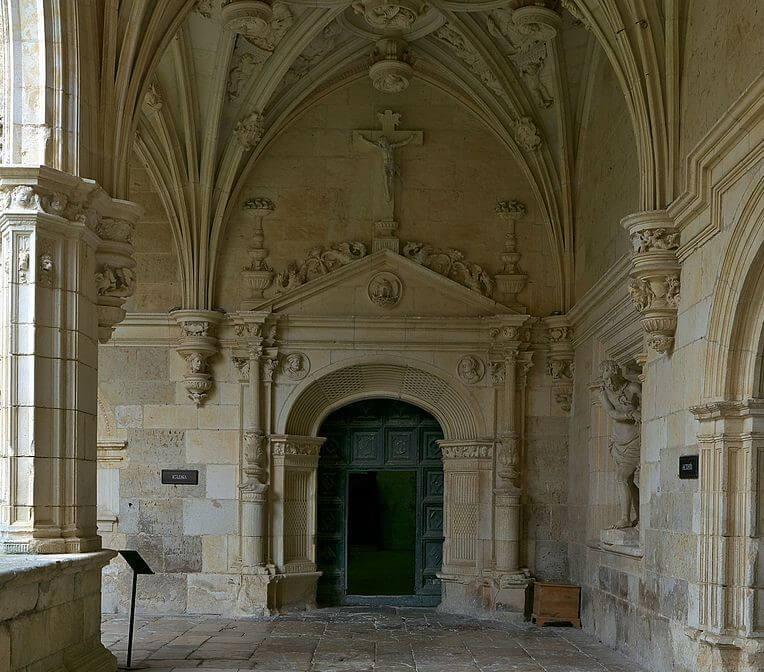 Puerta de las Procesiones del Monasterio de San Zoilo