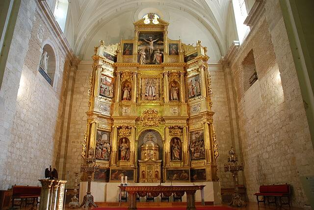 Retablo mayor de la iglesia
