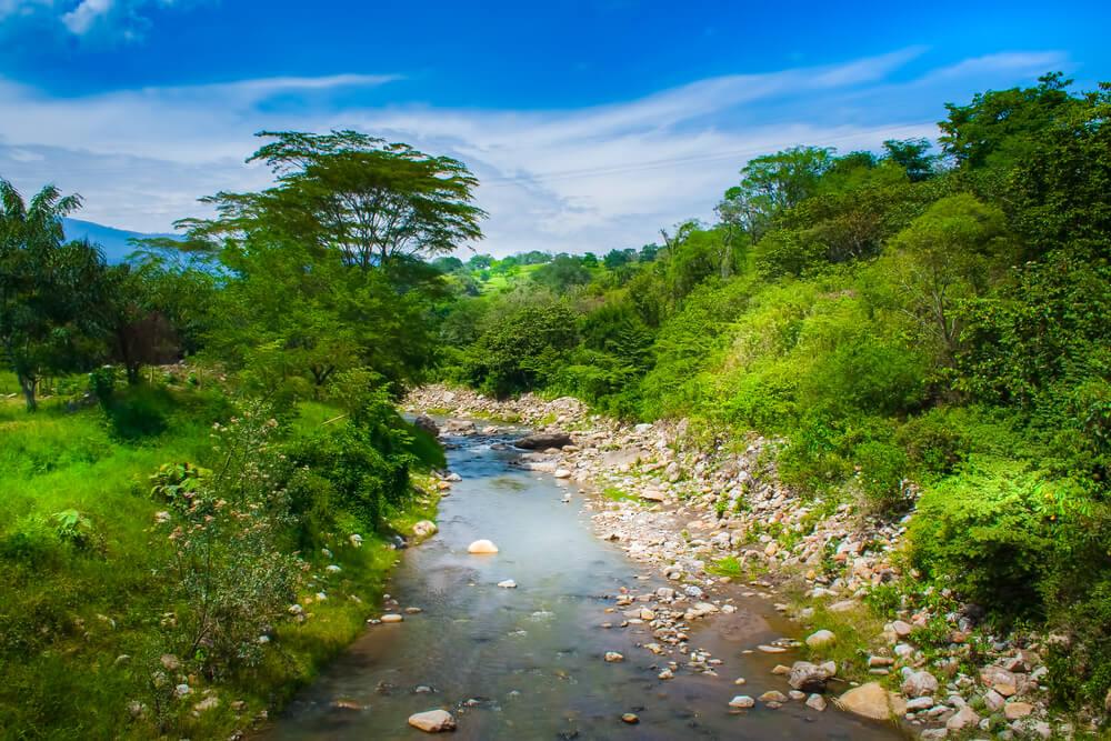 Río Timana en Colombia