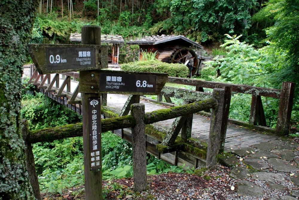 Ruta Nakasendo en el valle de Kiso