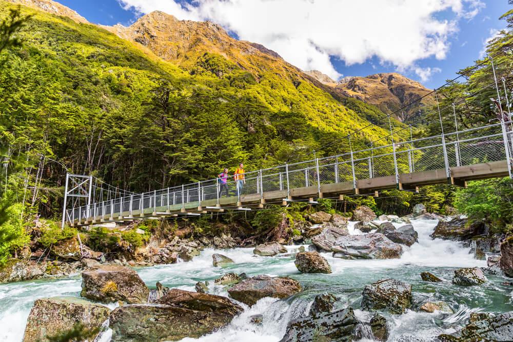 Sendero Routeburn, uno de los mejores lugares para hacer trekking