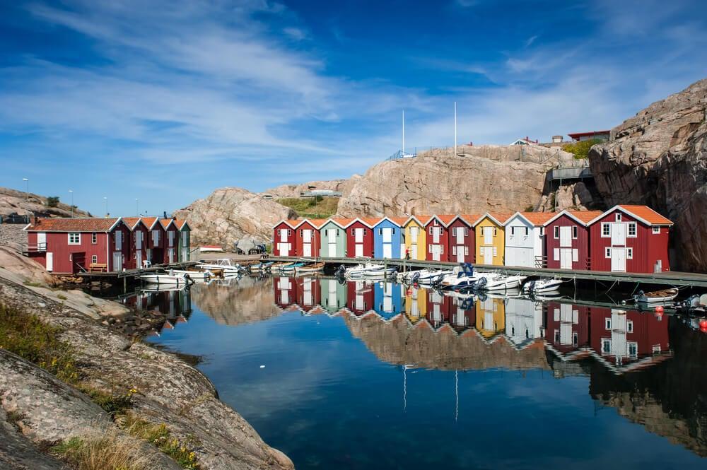 Gotemburgo y los pueblos de la costa oeste de Suecia
