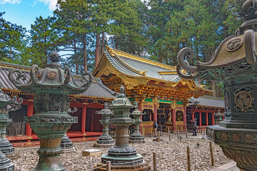 Templo Taiyuin-byo en Nikko