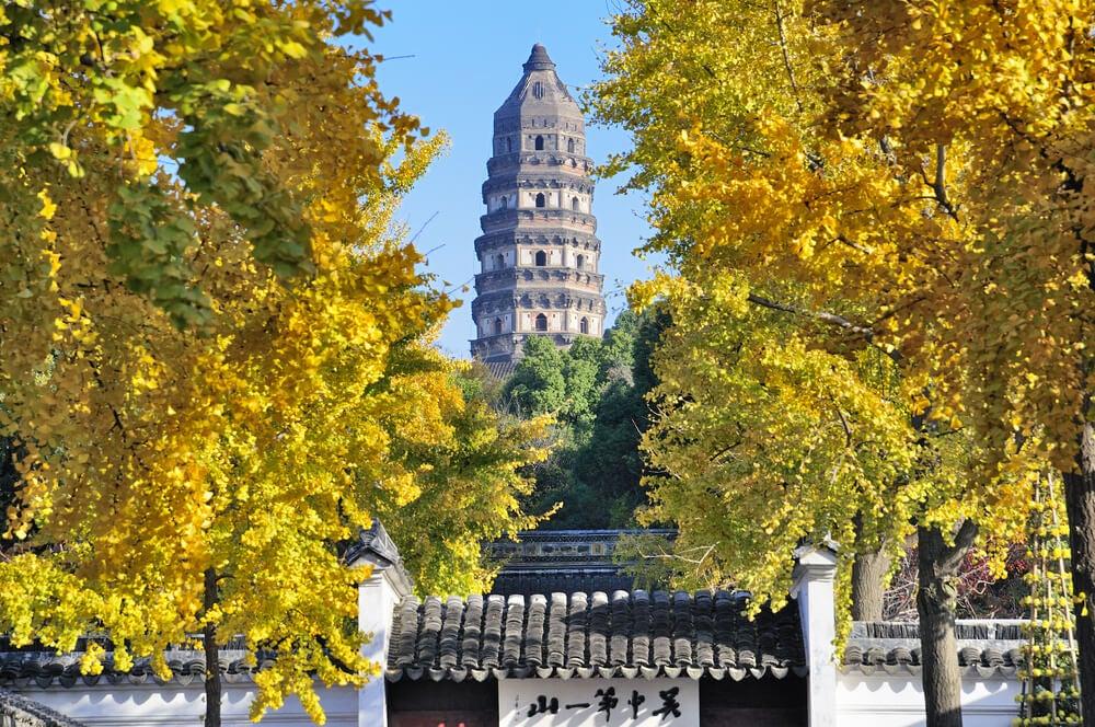 Tiger Hill, una de las atracciones turísticas de Suzhou
