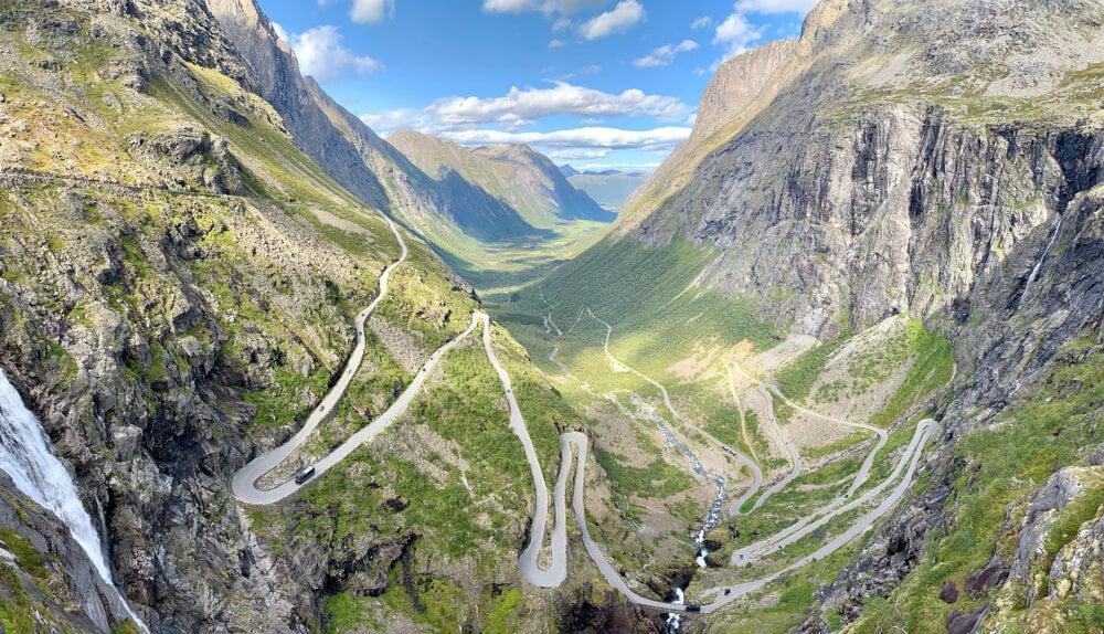 Trollstigen, la carretera más espectacular de Noruega