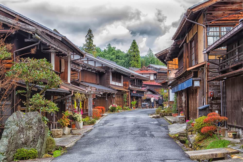 Vista de Tsumago