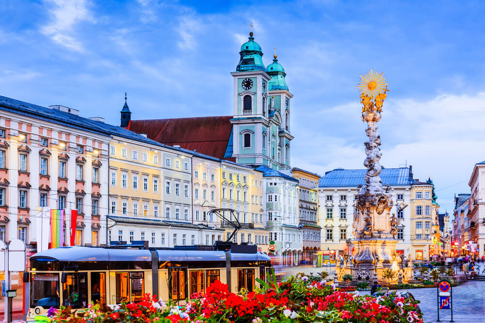 Linz, una ciudad cultural y creativa en Austria