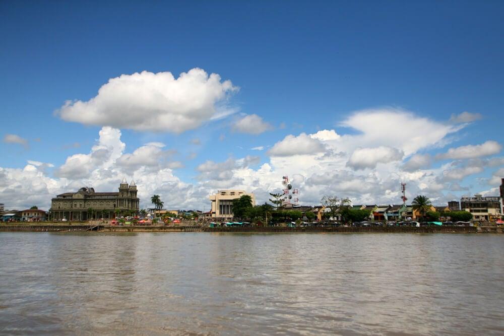 Quibdó, capital del Chocó en Colombia