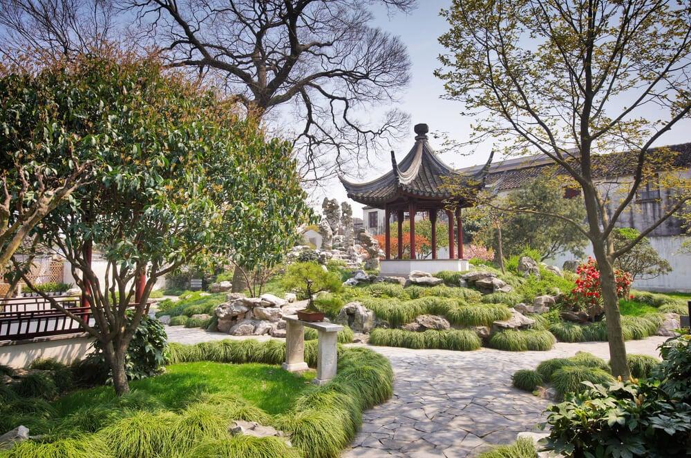 Pagoda en Tiger Hill