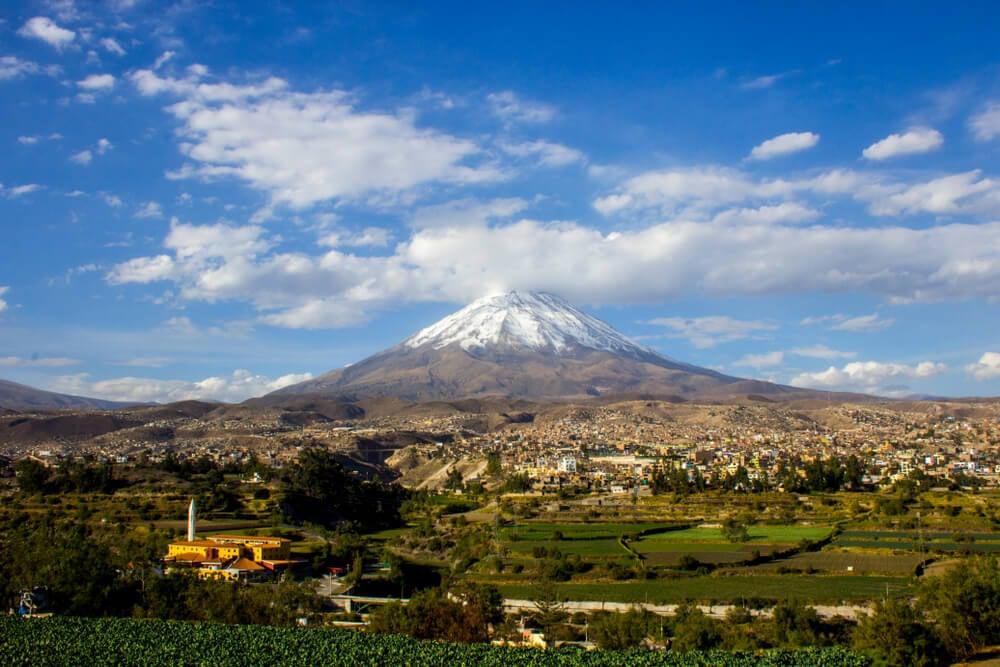 Ascendemos al volcán Misti en Arequipa, al sur del Perú
