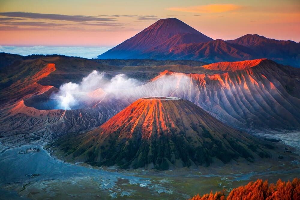 El volcán Semeru, un lugar de otro planeta en Java