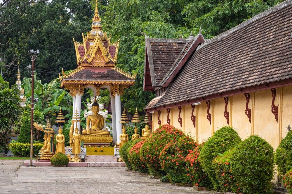 Vista del Wat Si Saket