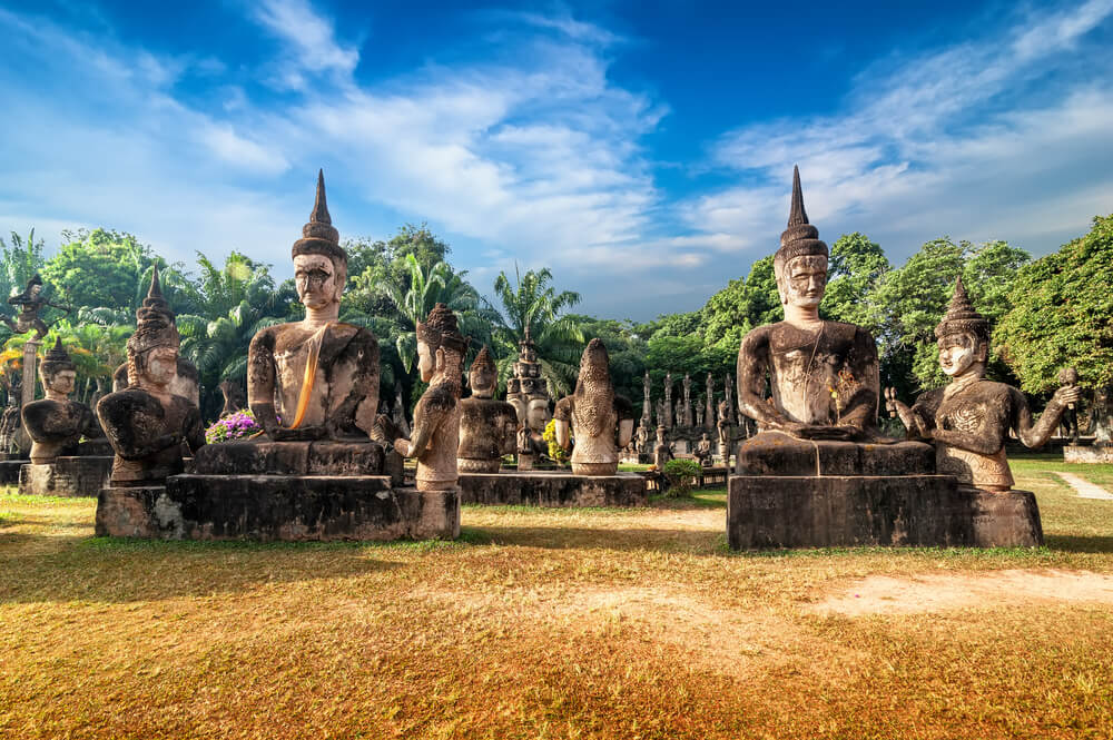 Wat Xieng Khuan Buddha park.