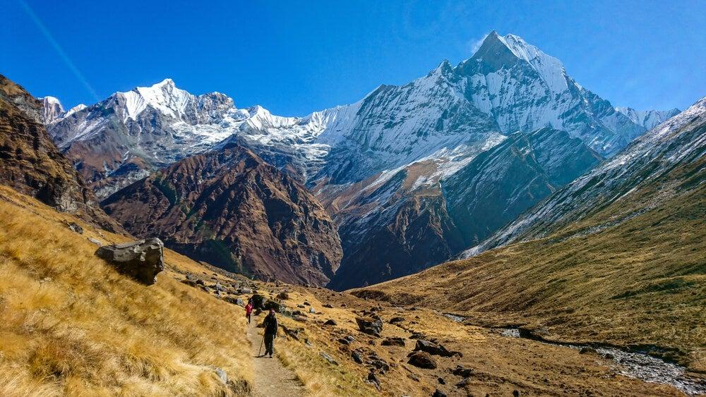 Visa del Annapurna, una de las montañas más peligrosas del mundo