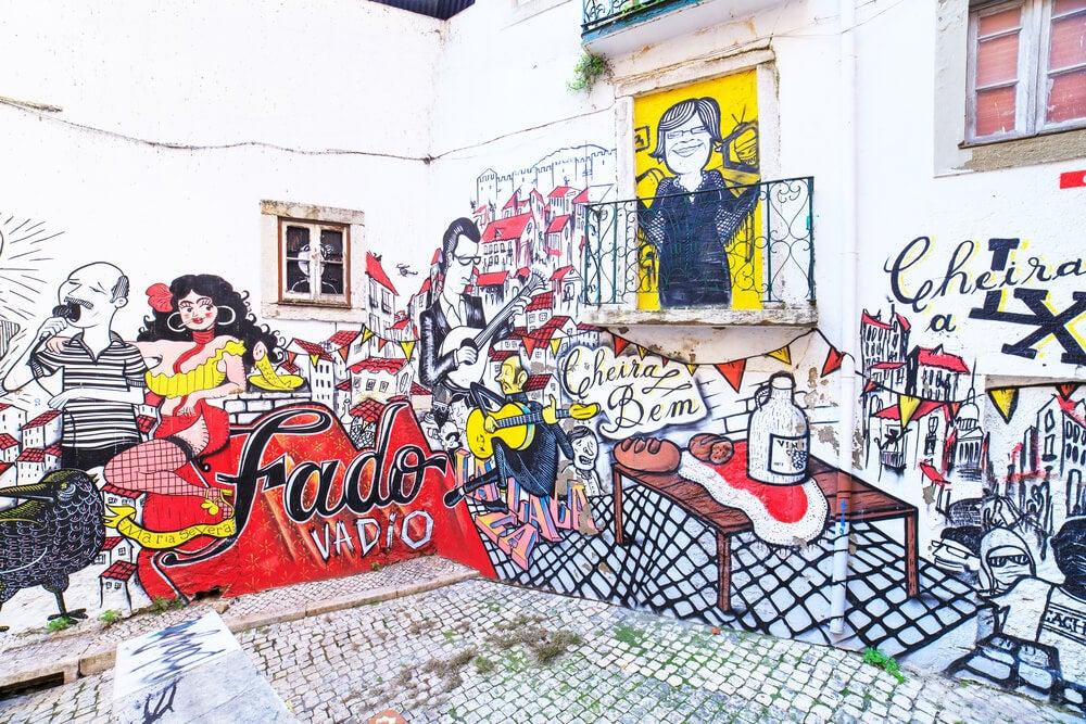 Damos un paseo por el arte urbano de Lisboa
