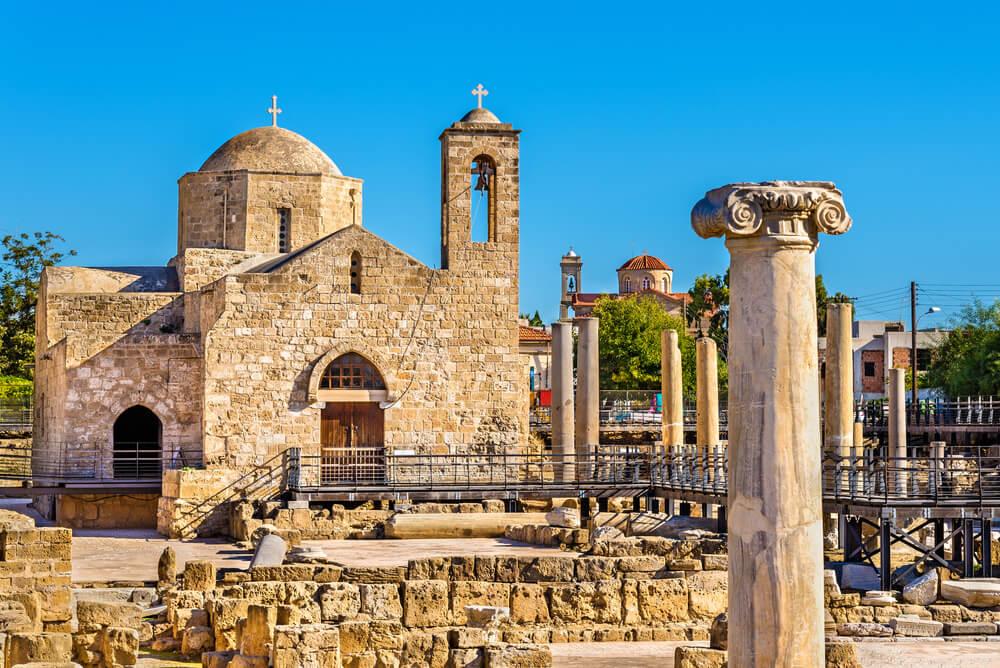 Basílica Panagia Chrysopolitissa en Pafos