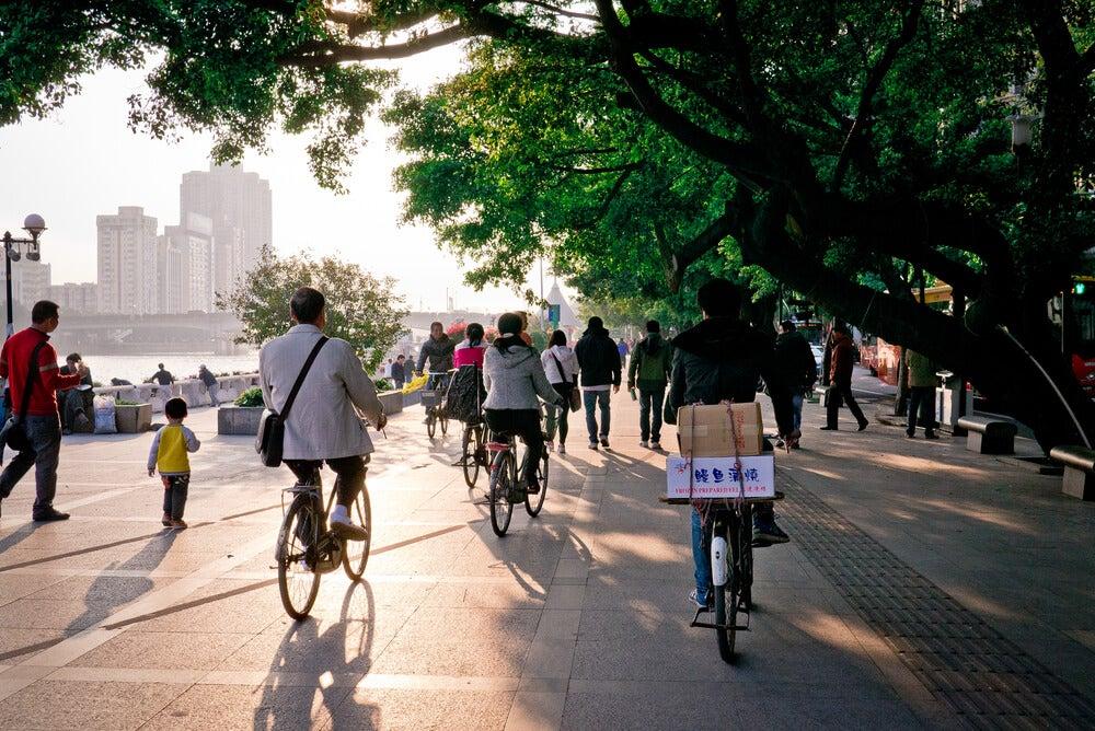 Bicicletas en China
