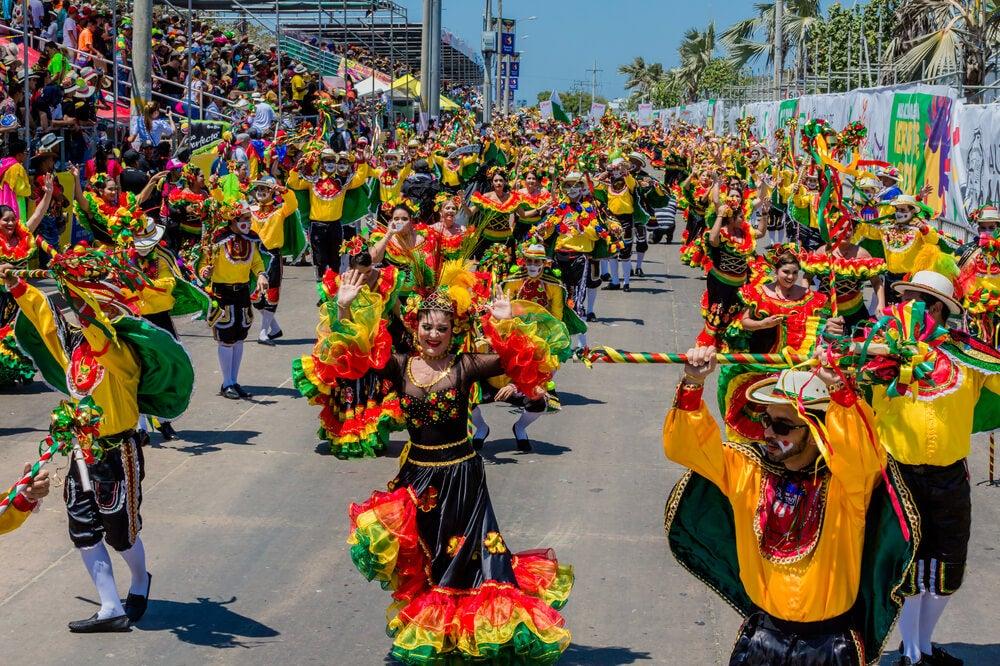 Desfile del carnaval de Barranquilla