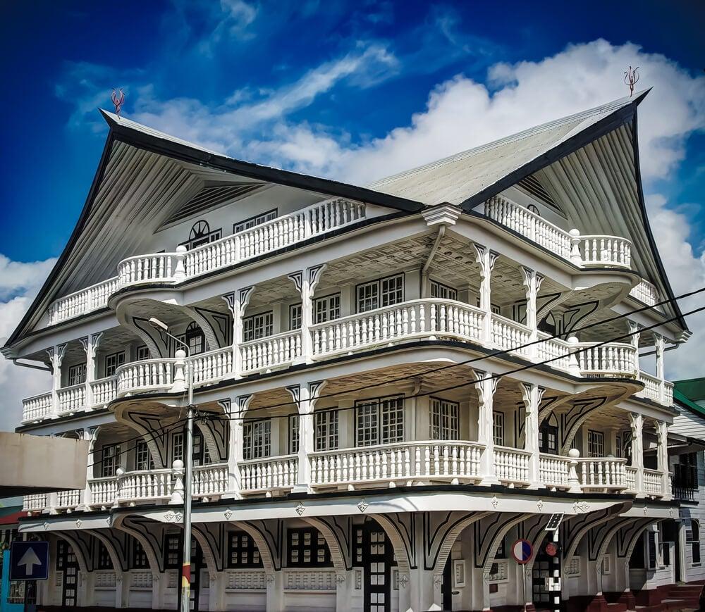 Casa de madera en Paramaribo