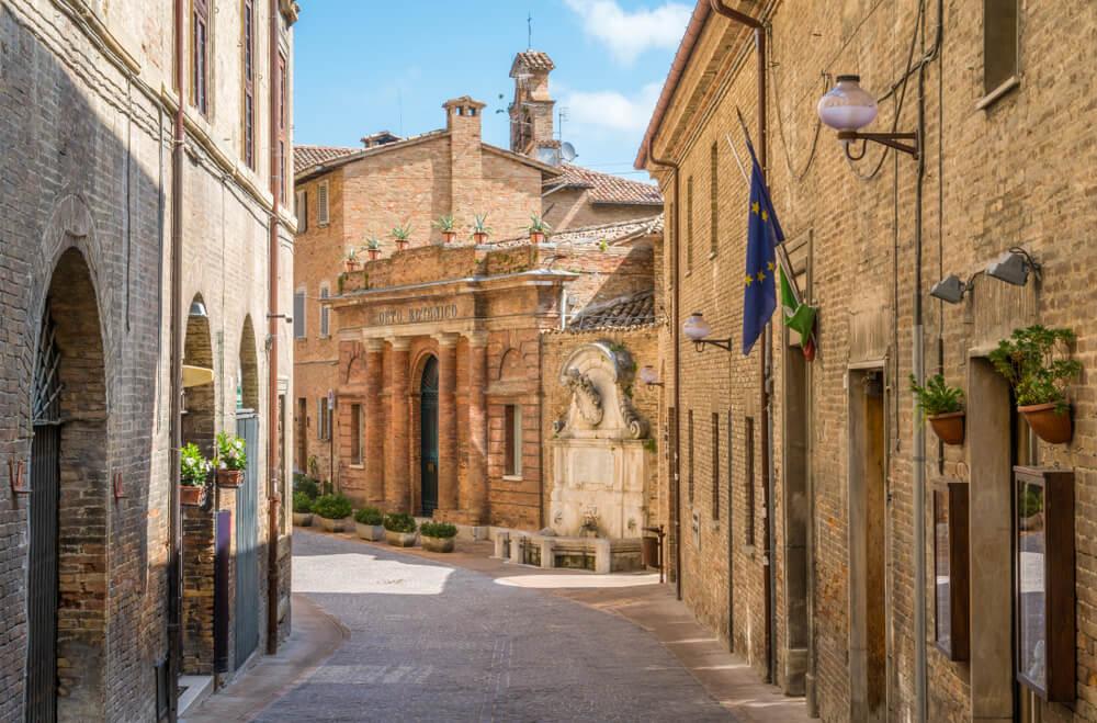Casco histórico de Urbino