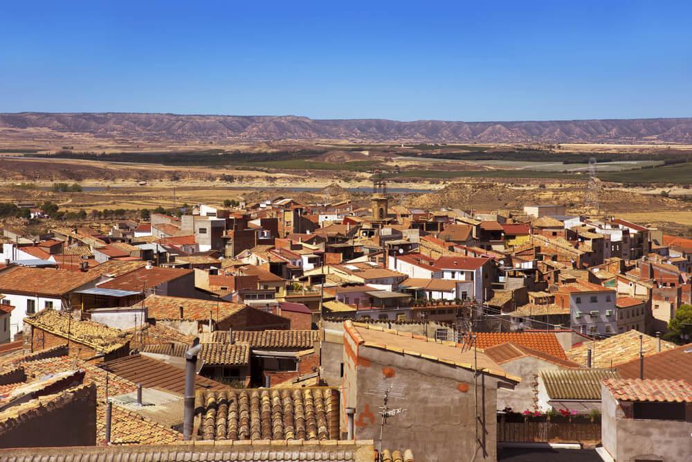 Vista de Caspe