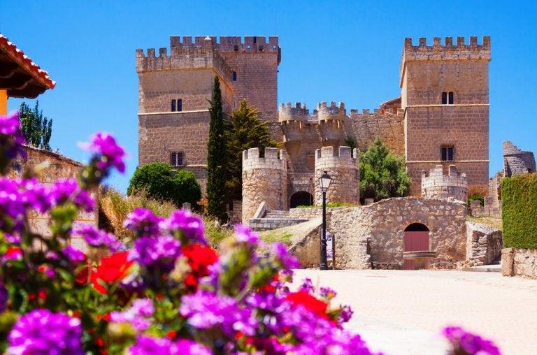 El castillo de Ampudia, el más bello de Palencia