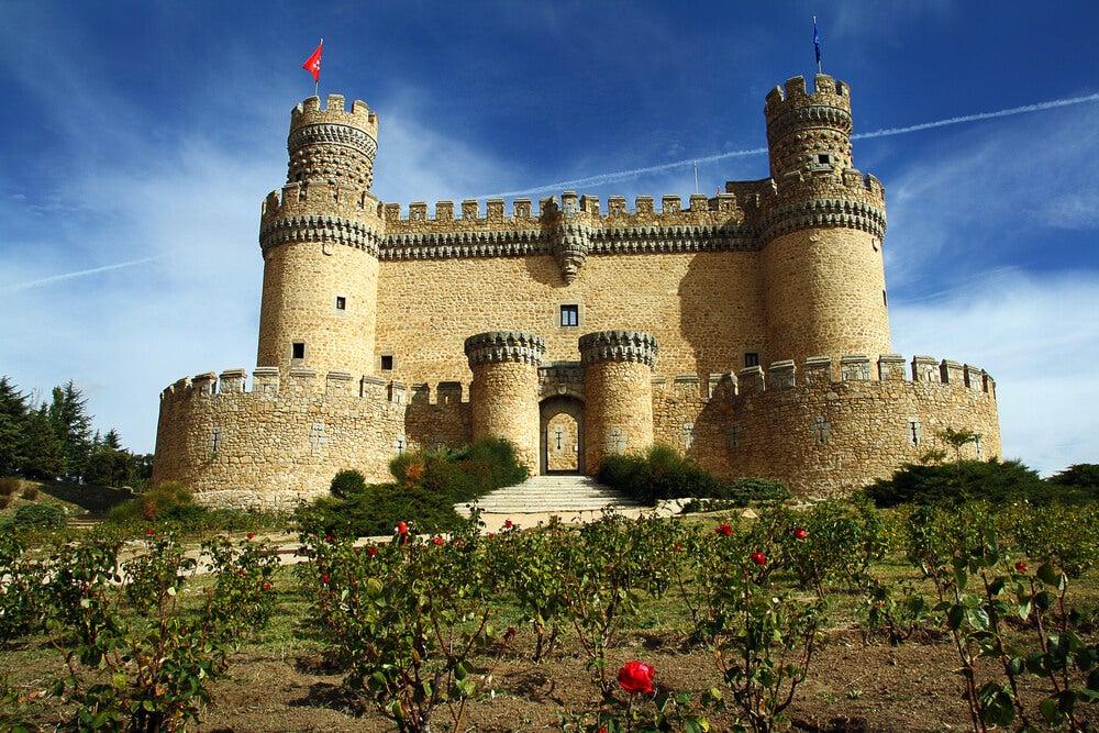El castillo de los Mendoza en Manzanares el Real