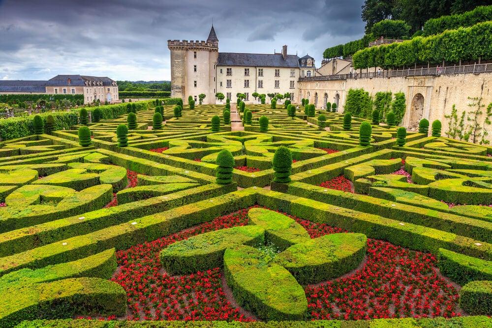 El castillo de Villandry y sus fabulosos jardines
