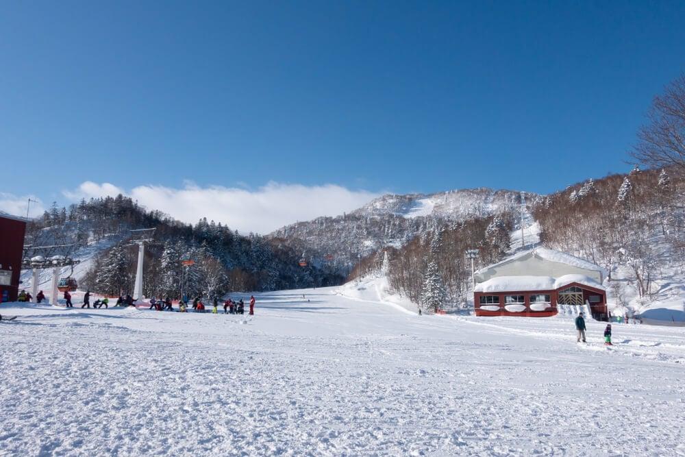 Centro de esquí cerca de Sapporo