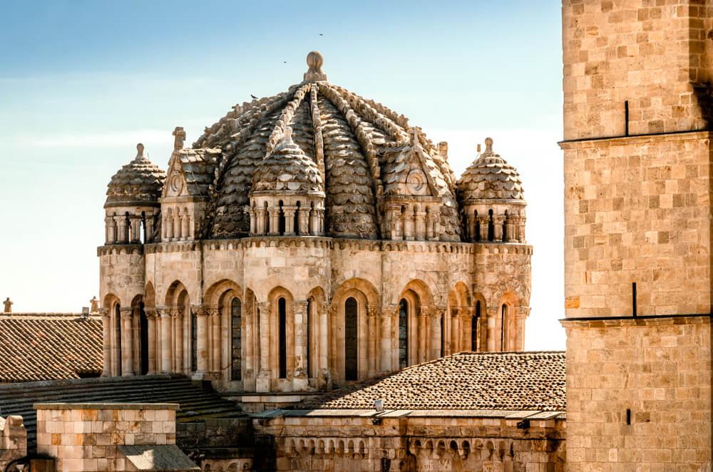 Cimborrio de la catedral de Zamora