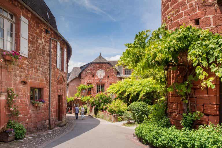 Collonges-la-Rouge, un bonito pueblo medieval en la Dordoña