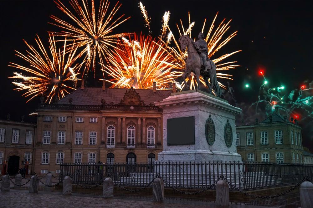 Copenhague ne Año Nuevo