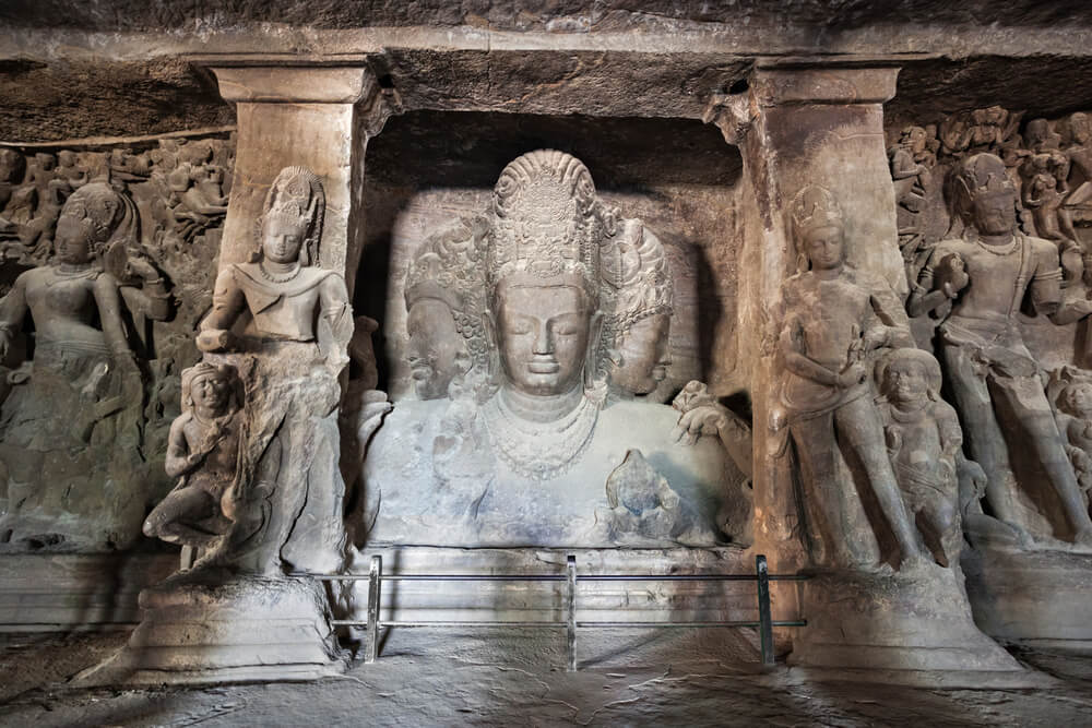 Cuevas de Elephanta en Mumbai