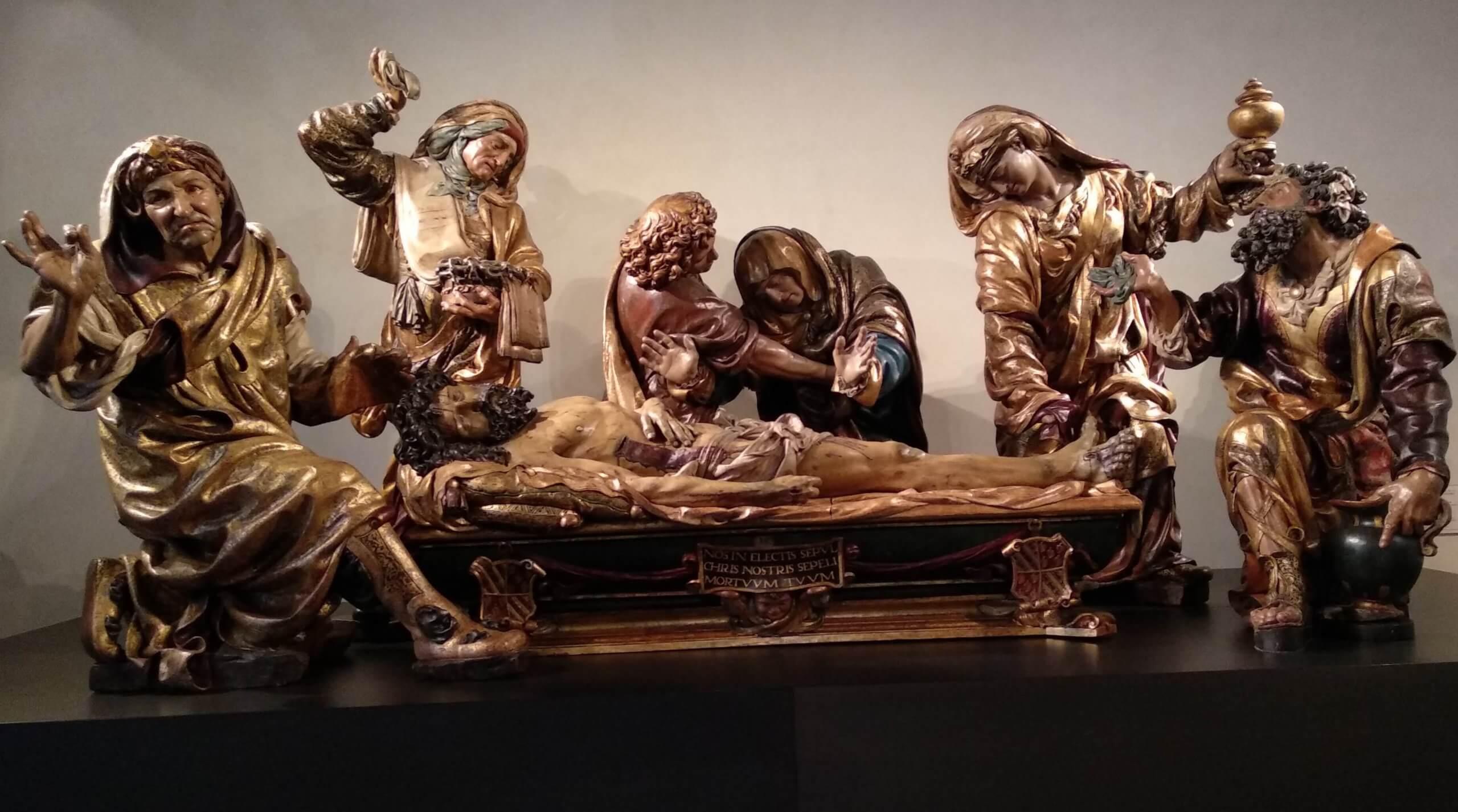 'El entierro de Cristo' de Juan de Juni