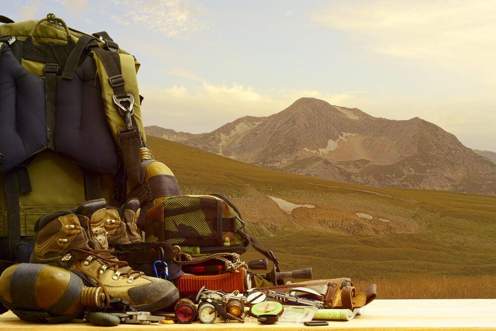 Equipo de acampada