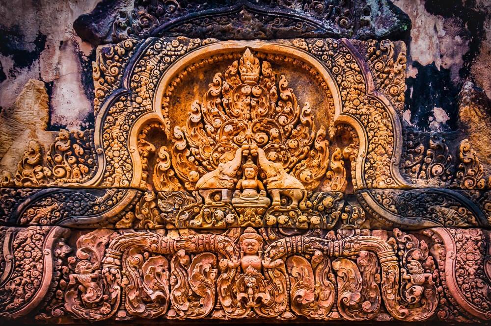 Decoración del templo