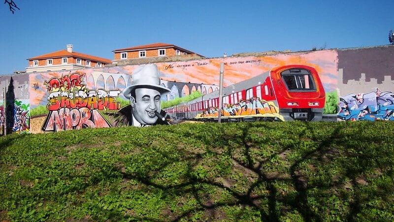Grafiti en Amoreiras