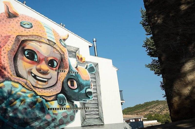 Grafiti en Fanzara