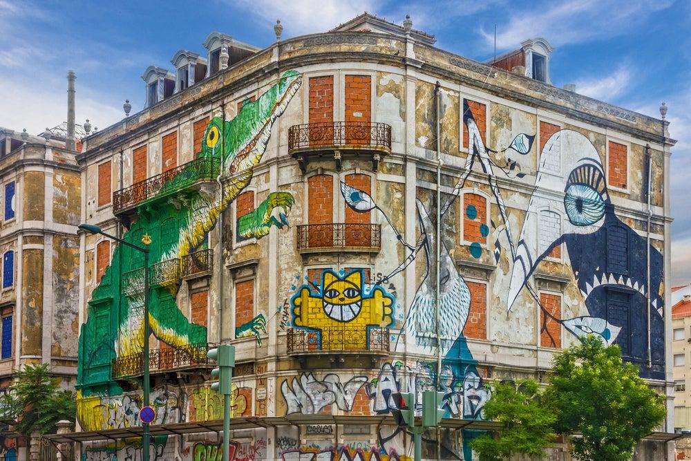 Grafiti en Lisboa