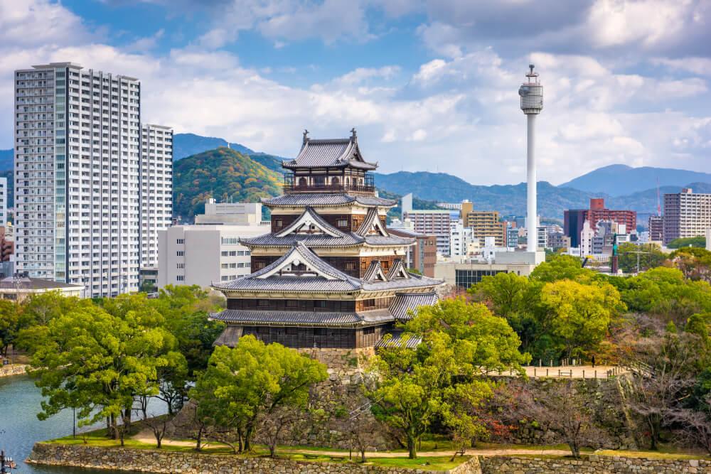 Vista de Hiroshima