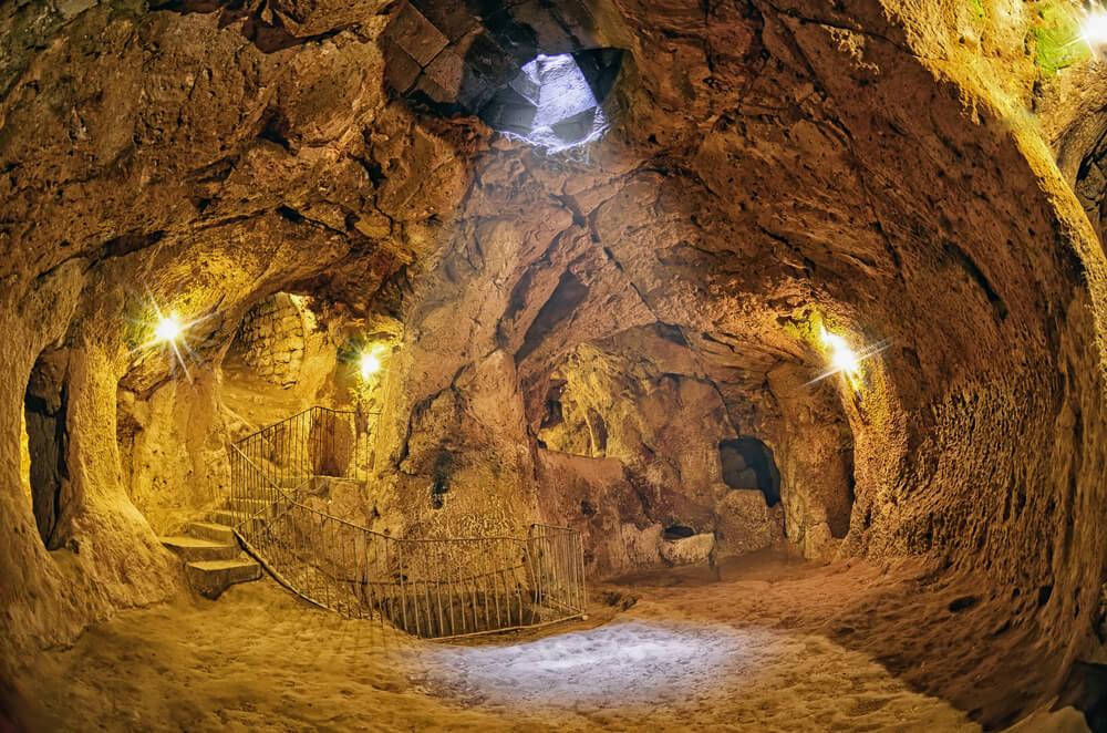 Interior de Derinkuyu