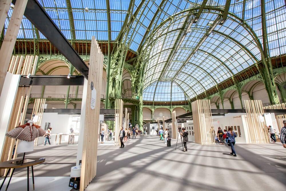 Interior del Grand Palais
